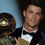 Cristiano Ronaldo ganó el Balón de Oro 2014, el tercero de su carrera