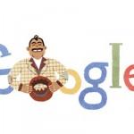 """Doodle de Google homenajea a Capulina """"el rey del humorismo blanco"""" nacido hace 89 años"""