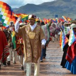 Evo Morales asume el mando indígena de las tribus incaicas previo al presidencial