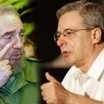 Fidel recibe al brasileño Frei Betto aventando los comentarios agoreros sobre su salud