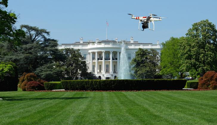 encuentran peque o dron en jardines de la casa blanca