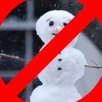 """Máxima autoridad islámica prohíbe hacer muñecos de nieve por """"fomentar la lujuria"""""""