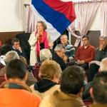 En febrero se define si Xavier continúa como presidenta del Frente Amplio