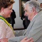 José Mujica y Tabaré Vázquez participaron de la ceremonia de asunción de Dilma Rousseff en Brasilia