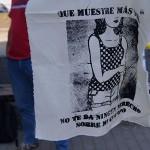 Concentración contra el abuso callejero en Plaza Matriz