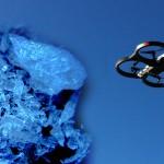 Un dron con tres kilos de droga química cae en estacionamiento de un supermercado en Tijuana