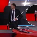 Holanda: joven de 19 años asalta armado TV oficial y exige ante cámaras leer una proclama