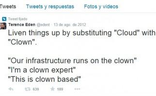 Twit de una de las historias contadas en tiempo real en twitter. / Foto: Terence Eden