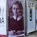 """Inauguran exposición """"Ana Frank, una historia vigente"""""""