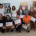 Primer concurso de artes plásticas del BSE