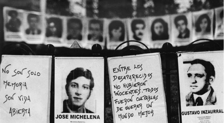 Hasta el momento, Argentina ha logrado condenar a más de medio millar de represores. / Foto: Xanti Revueltas