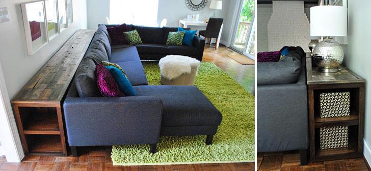 Cada cosa en su lugar c mo eliminar el desorden en tu - Mueble detras sofa ...