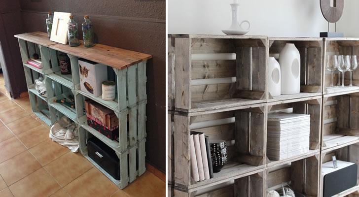 No compres m s muebles 10 ideas para reciclar cosas que for Muebles con cosas recicladas