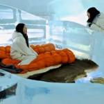 """Hotel japonés estrena """"suite del hielo"""" para dormir a 8 grados bajo cero"""