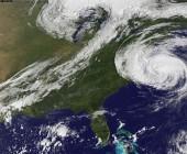 """Alertan por """"tormenta como nunca se vio jamás"""" en la costa este de Estados Unidos"""