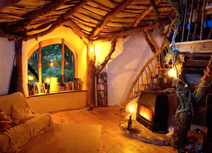 Casa de Hobbit ecológica y barata