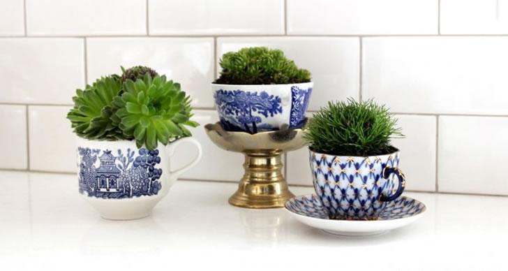 Viste tu casa de verde con estas innovadoras macetas - Macetas interior ...