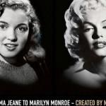 Marilyn Monroe es la nueva cara de Max Factor