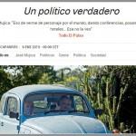 """Reportaje a Mujica se convierte en """"lo más visto"""" por los lectores del El País Semanal de España"""