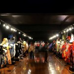 Tablado y exposiciones en el Museo del Carnaval