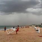Banderas negras en playas de Maldonado alertarán presencia de tormentas eléctricas