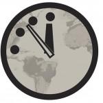 El Reloj del Juicio Final adelanta dos minutos y está a solo tres de la medianoche mundial