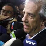 Vázquez evitó decir que respalda a Huidobro