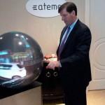CES 2015: los televisores del futuro serán esféricos para permitir mirar videos en 360 grados