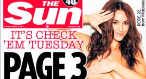 """El periódico """"The Sun"""" aclaró que seguirá publicando mujeres en topless"""