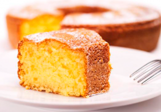 Torta de naranja sin huevo ni manteca