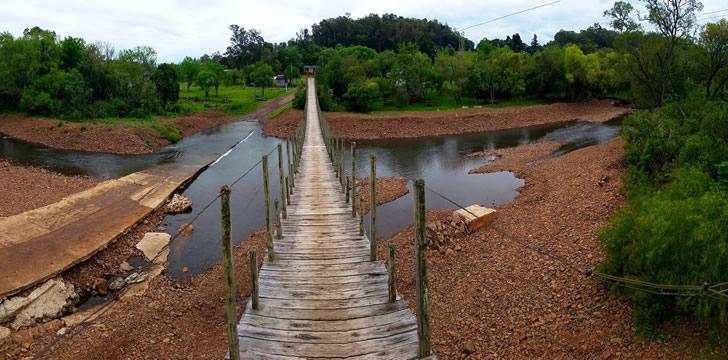 Ruta cultural por Tacuarembó, acampa en el Valle Edén