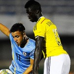 La selección uruguaya Sub 20 empató 0-0 contra Colombia y resignó la punta del Sudamericano a manos de Argentina