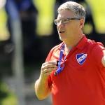Nacional: Gutiérrez perfila el equipo titular para el debut en la Pre-Libertadores contra Palestino de Chile