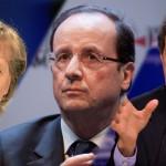 Merkel, Hollande y Kerry viajan a Ucrania ante el aumento de combates por ruptura de la tregua