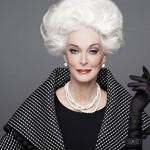 Con 83 años un rostro bello y figura envidiable una estadounidense es la modelo de mayor edad en actividad