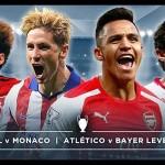 Mónaco y Leverkusen sorprenden a Arsenal y Atlético en Champions League
