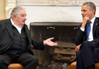 Mujica y las destacadas reuniones bilaterales: Barack Obama y el Papa Francisco