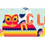Doodle de Google saluda el Año Nuevo Lunar, de la cabra o de la oveja, según quien lo mire