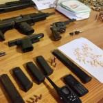 Policías de Jefatura de Montevideo y Guardia Republicana incauta armas de grueso calibre a bandas de narcos
