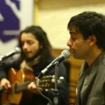 Ernesto Díaz y Fabián Severo en recital de música y poesía
