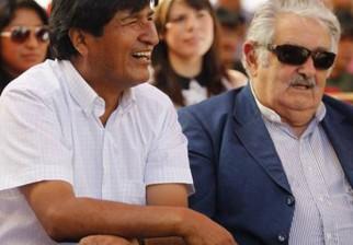 """Evo Morales define a Mujica como """"hermano, amigo y padre a nivel político, personal y como luchador social"""""""