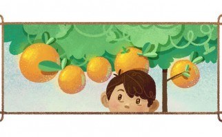 Doodle de Google para el escritor brasileño José Mauro de Vasconcelos en su 95º aniversario