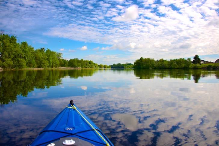 Practicar canotaje en los ríos del Norte de Uruguay