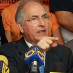 """La Unión Europea se manifestó en """"alarma"""" por detención de alcalde de Caracas"""