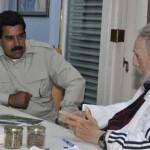 Fidel Castro recibe a Nicolás Maduro y Cuba se solidariza con Venezuela ante intento golpista