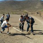 Un juego mapuche llega a nuestras playas