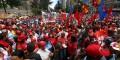 Venezolanos realizaron marcha contra el imperialismo y en apoyo al presidente Maduro