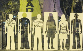 Marcha de los desaparecidos / Foto: desaparecidos.org.uy