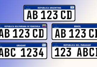 Uruguay será el primer país en empadronar vehículos con matrícula – chapa del Mercosur