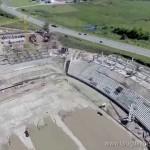 Mirá el avance de la construcción del Estadio de Peñarol